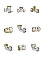 Фитинги обжимные для металлополимерных труб