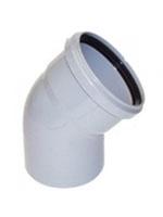 Отвод канализационный 45°