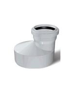 Переходник (бутылка) канализационный Deniz 150*100*4 мм