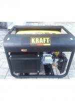 Генератор электростанция с электростартером  2,5 кВт KRAFT KPG-3500 E